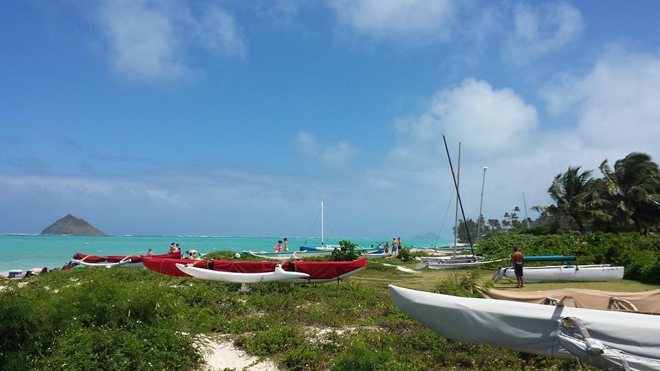 ラニカイビーチは天国に一番近い!?
