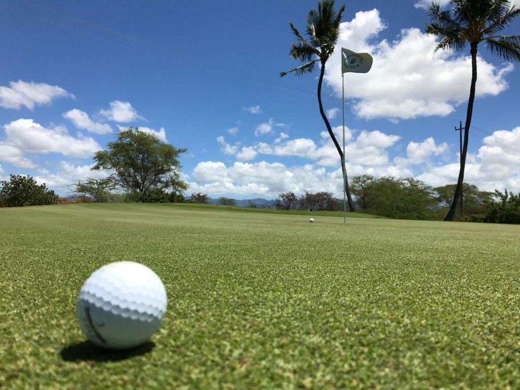 オアフ島 ゴルフツアー TO ハワイプリンスゴルフクラブ