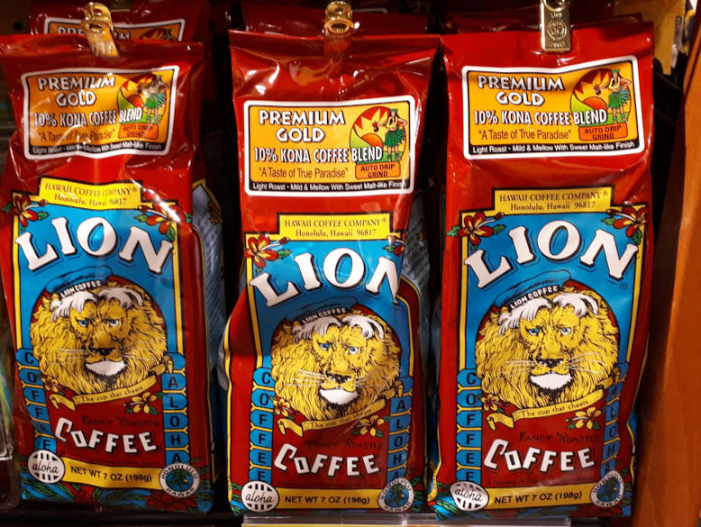 ハワイの定番のお土産といったら「LION COFFEE」
