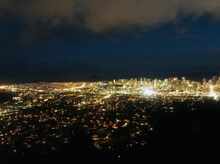 4時スタートの4時間チャーターコースのおすすめはタンタラスの丘の夜景