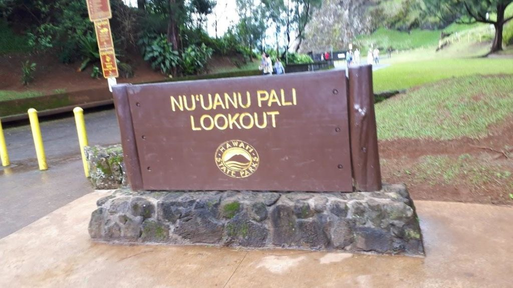 「ヌアヌパリ ルックアウト」でハワイの歴史を学ぶ
