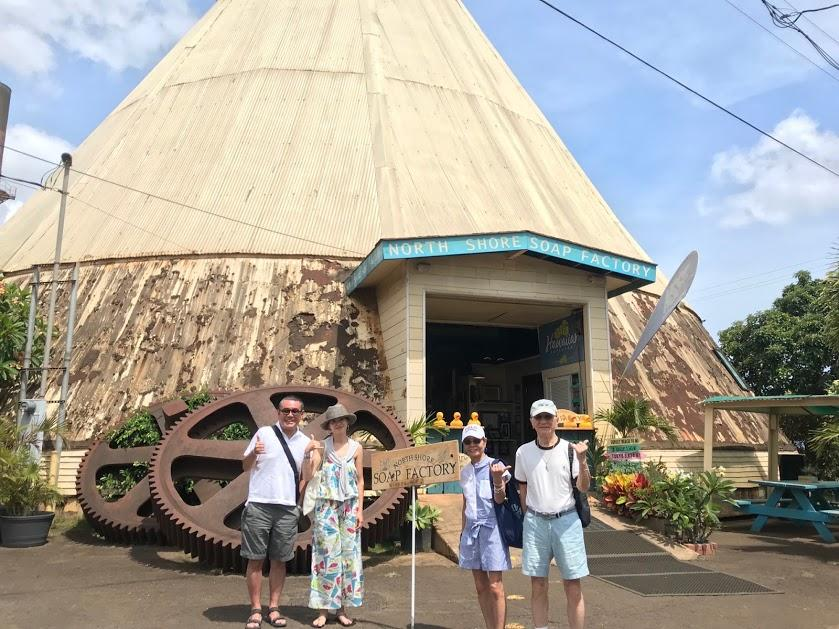 ハワイの旅は貸切チャーターで行きたい場所へ! 『ソープファクトリー』
